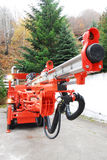 Bergwerksmaschine Lizenzfreie Stockfotos