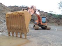 Bergwerksmaschine Ecavator Stockbilder