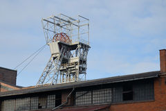 Bergwerksschacht (Zabrze in Polen) Stockfoto