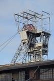 Bergwerksschacht (Zabrze in Polen) lizenzfreies stockbild