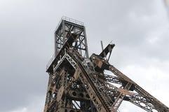 Bergwerksschachthauptlandschaft Stockbilder