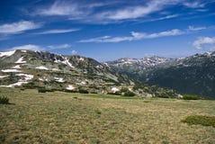 Bergwiese stockfoto
