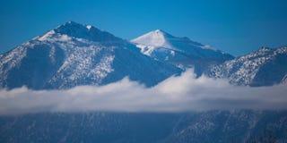 Bergwolken Stock Foto's