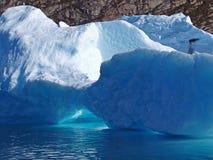 bergy δυαδικό ψηφίο Γροιλαν&delta Στοκ Φωτογραφίες
