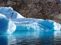 Bergy bit, Greenland. Royalty Free Stock Photos