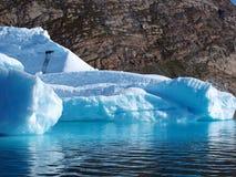 Bergy bit, Greenland. Royalty Free Stock Photos