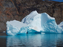 Bergy bit, Greenland west coast in summer Royalty Free Stock Image