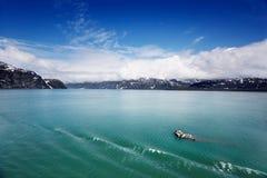 Bergy bits in Glacier Bay Royalty Free Stock Photo