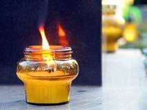 Überhaupt-Brennendes Feuer Stockbilder