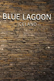 Berühmte blaue Lagunen-geothermischer Badekurort in Island Stockfotos