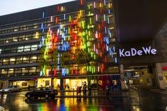 Berühmte Einkaufsstraße Stockfoto
