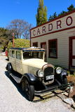 Berühmtes Cardrona-Hotel Neuseeland Stockfotos