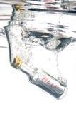 Bericht in de fles Royalty-vrije Stock Fotografie