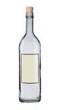 Bericht in een fles. Stock Foto