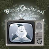 Bericht van Kerstman Royalty-vrije Stock Foto