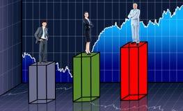 Berichte der Finanzierung für den Monat. Lizenzfreies Stockfoto