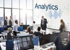 Berichten Sie über Analyse-Fortschritts-Diagramm-Konzept lizenzfreie stockfotografie