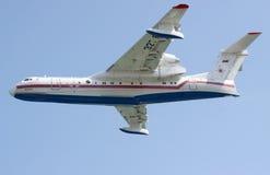 Beriev是200两栖飞机 免版税库存图片
