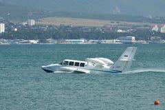 Beriev是103海上飞机 库存照片