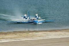Beriev是103海上飞机 免版税库存图片