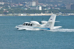 Beriev是103海上飞机 库存图片