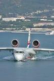 Beriev是200海上飞机 库存照片