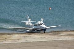Beriev是103海上飞机 免版税库存照片