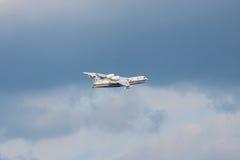 Beriev是200飞机 库存图片