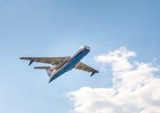 Beriev是200 ES `牵牛星`类型多用途两栖飞机 库存图片
