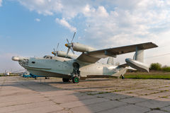 Beriev Be-12 plane. Beriev Be-12 flying boat military plane Stock Image