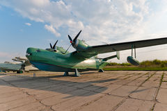 Beriev Be-6 plane. Beriev Be-6 flying boat military plane Royalty Free Stock Image