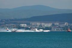 Beriev Be-200 amfibii samolot zdjęcia stock