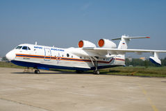 Beriev Be-200ChS Zdjęcie Stock