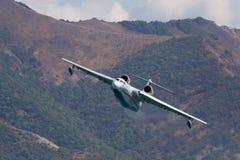 Beriev Be-200 fire seaplane Stock Photos