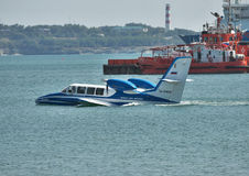 Beriev Be-103 havsnivå Royaltyfri Bild