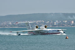 Beriev Be-200 sea plane Royalty Free Stock Photography