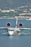 Beriev Be-200 sea plane Stock Photo