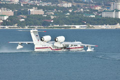 Beriev Be-200 sea plane Royalty Free Stock Photos