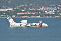Beriev Be-200 sea plane Stock Image