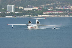 Beriev Be-200 sea plane Stock Images