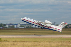 The Beriev Be-200 Stock Images