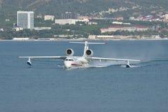Beriev -200 overzees vliegtuig Stock Afbeeldingen