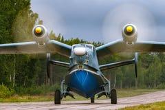 Beriev -12 vliegend boot militair vliegtuig royalty-vrije stock foto's
