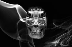 Berijd niet en rook royalty-vrije stock fotografie