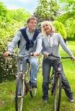 Berijdende fiets Stock Afbeelding