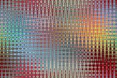Berijpt Glasontwerp bij Kleuren stock illustratie