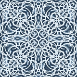 Berijpt glaspatroon stock illustratie