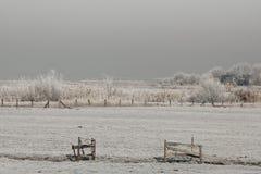 Winterslandschap, Winter landscape stock photos