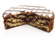 Berijpte cake royalty-vrije stock afbeeldingen