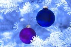 Berijpte Kerstmis Royalty-vrije Stock Foto's